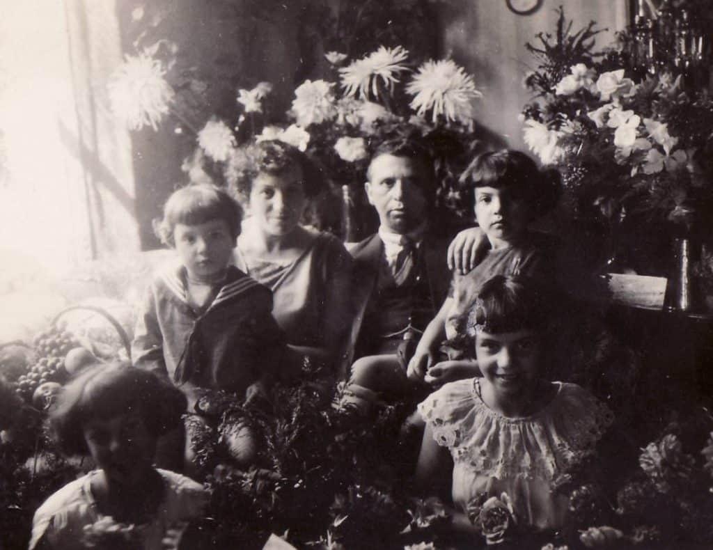 Familie Eisendrath in de Botenmakersstraat